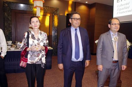 Mercredi 24 mars 2021: Visite à Udonthani de l'Ambassadeur de France de Bangkok.