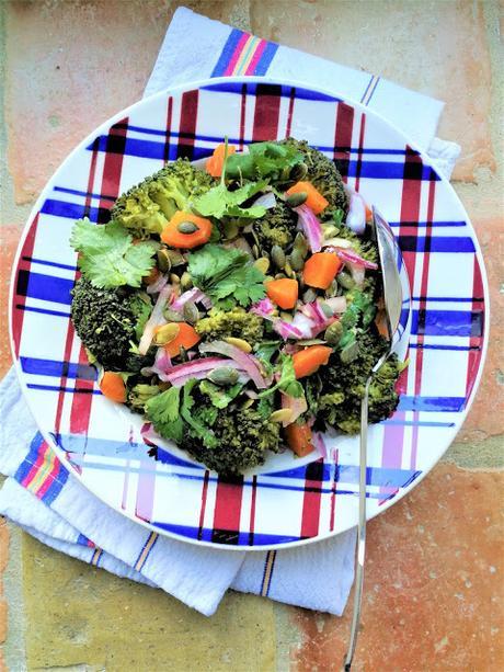 Salade de brocoli & carotte