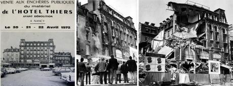 La démolition de la Brasserie Thiers de Nancy © Pieckoyt - licence [CC BY-SA 4.0] from Wikimedia Commons