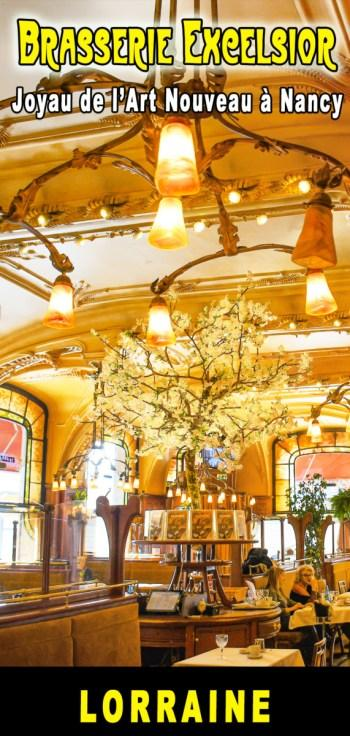 Brasserie Excelsior à Nancy pour Pinterest © French Moments