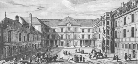 Chateau de Blois - gravure de Jacques Rigaud