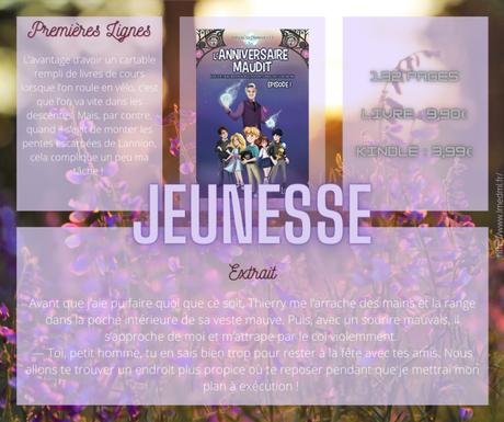 Les extraordinaires aventures de Louison #1 – L'anniversaire Maudit » Arnaud Cornillet