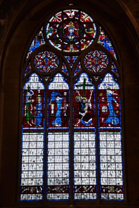Le vitrail du transept nord © French Moments