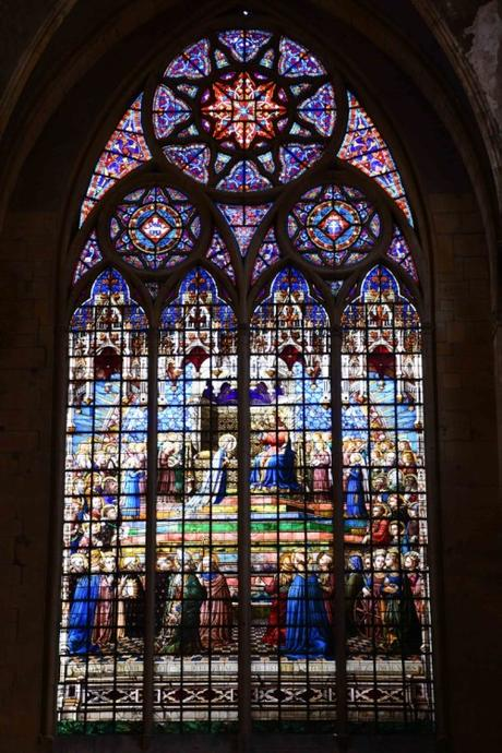Le vitrail du transept sud © French Moments