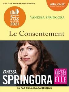 Le Consentement de Vanessa Springora lu par Guila Clara Kessous #PrixAudiolib2021