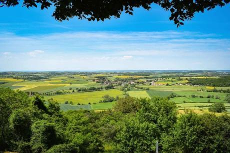 Le panorama du belvédère de la Croix de Moisson à Châteauneuf-en-Auxois © French Moments