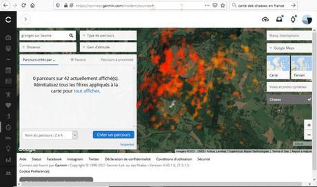 Heatmap chasse 2