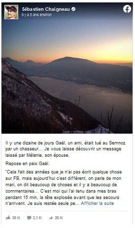 Facebook Sebastien Chaigneau