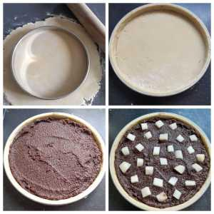 La tarte poire chocolat  de François Perret