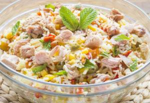 4 Idées de Recettes Légères de Salades de Riz WW