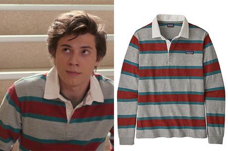Love Victor : Felix's polo striped polo shirt in S1E08