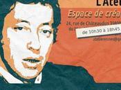Prolongation l'exposition Gainsbourg ans, œuvres