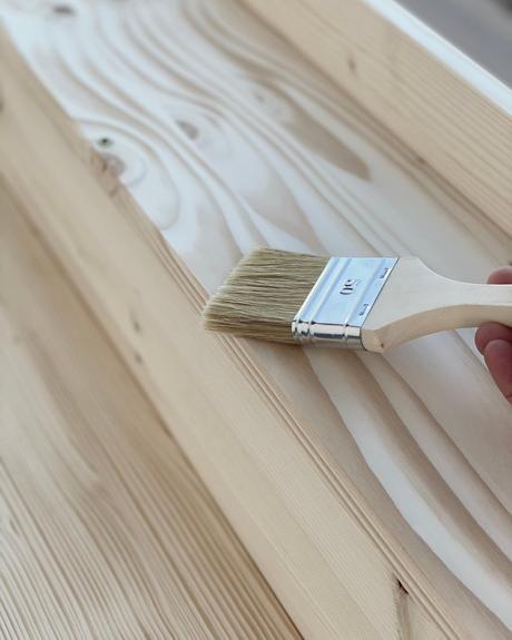 quelle lasure utiliser table de jardin bois pin diy