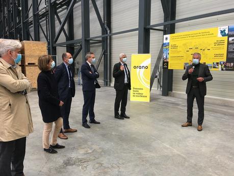 #MANCHE - Hervé Morin visite le futur atelier de fabrication d'Orano à Tourlaville (50) !