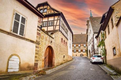 Mittelbergheim - Rue de la montagne © French Moments