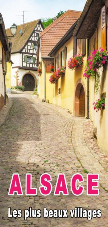 Villages d'Alsace - Pinterest © French Moments