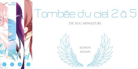 Tombée du ciel #2 à #5 • Suu Minazuki