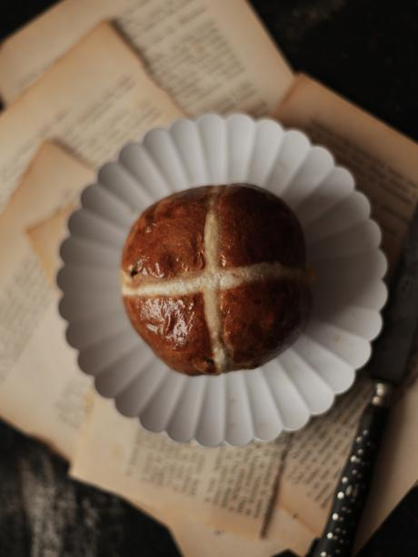 Hot Cross Buns au levain