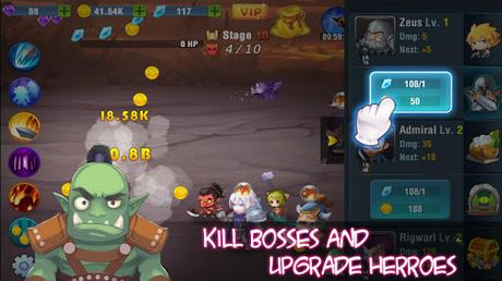 Télécharger Tap Legend: Hero Fight Offline  APK MOD (Astuce) 3