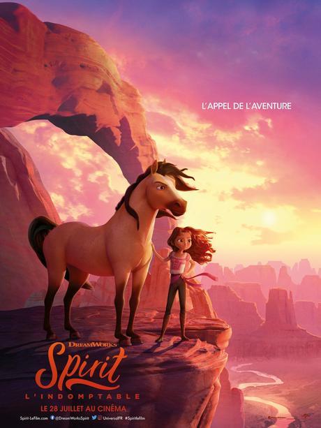 SPIRIT, L'INDOMPTABLE le film d'animation de l'été le 28 Juillet au Cinéma