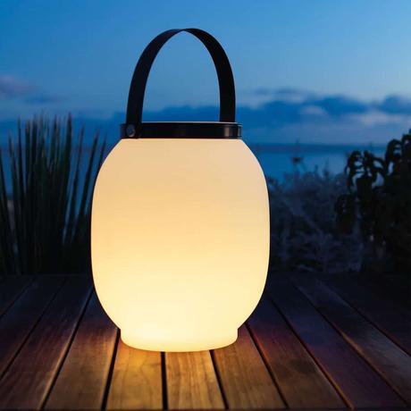 lanterne solaire vela luminaire extérieur design - blog déco - clematc