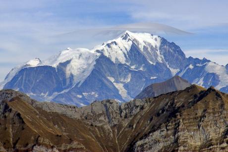 Le mont Blanc vu du Semnoz © French Moments