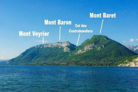 Autour d'Annecy - Les monts Veyrier, Baron et Baret © French Moments