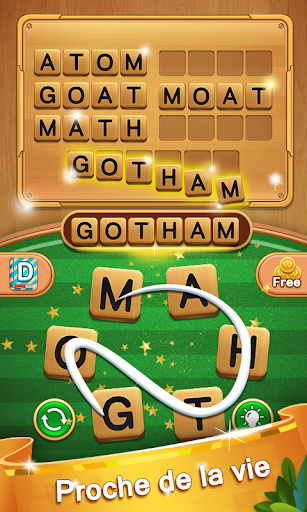 Code Triche Word Legend Puzzle - Cross addictive Word Connect APK MOD (Astuce) screenshots 3