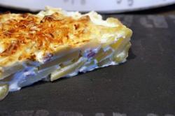 recette du jour: Gratin courgettes, lardons, pommes de terre  au thermomix de Vorwerk