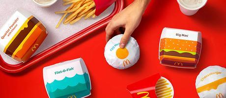 McDonald's et Burger King repensent leurs identités graphiques