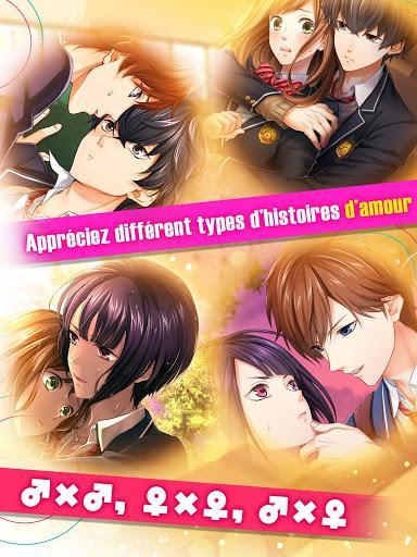 Télécharger Première Histoire d'Amour - Jeu Otome【yaoi・yuri】  APK MOD (Astuce) 6