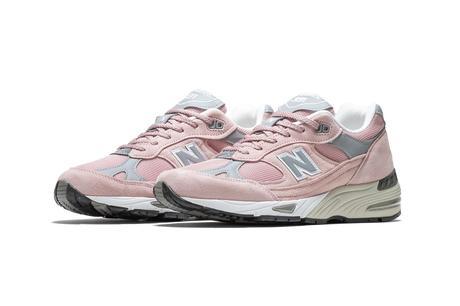 La New Balance 991 arrive dans un coloris Pink