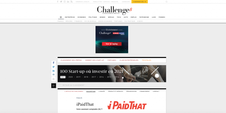 Challenges parle d'iPaidThat