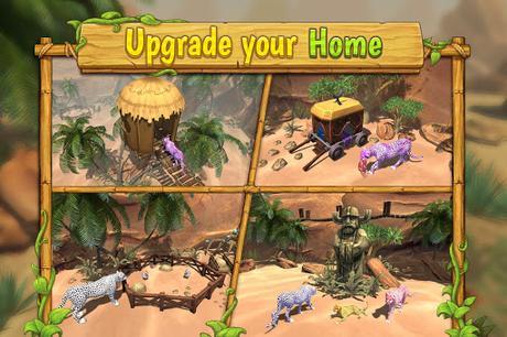 Télécharger Gratuit Cheetah Family Sim - Animal Simulator APK MOD (Astuce) screenshots 3
