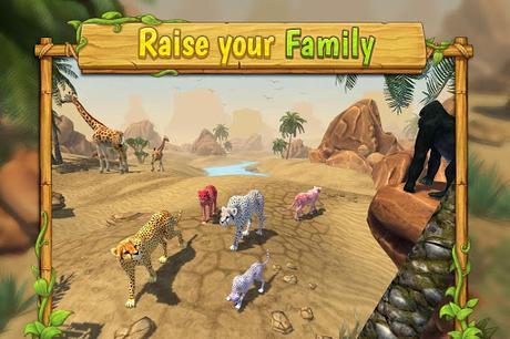Télécharger Gratuit Cheetah Family Sim - Animal Simulator APK MOD (Astuce) screenshots 1
