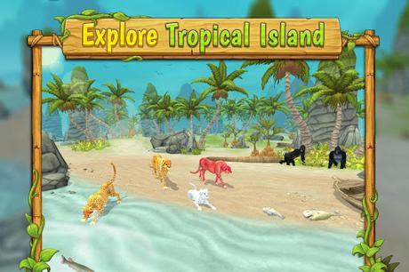 Télécharger Gratuit Cheetah Family Sim - Animal Simulator APK MOD (Astuce) screenshots 5