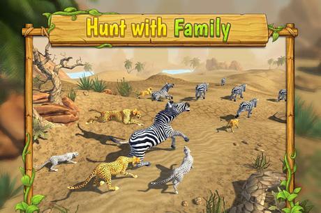 Télécharger Gratuit Cheetah Family Sim - Animal Simulator APK MOD (Astuce) screenshots 2