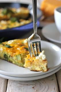 Don't let those lingering veggies go to waste! You can clean out the fridge and easily make a veggie frittata…RECIPE