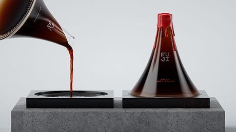 [PACKAGING] : Une bouteille de sauce soja inspirée du mont Fuji