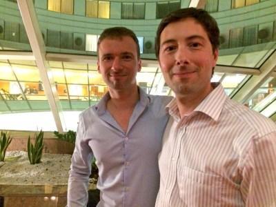 Pierre Guernier et Olivier Roland, Septembre 2016 à La Défense