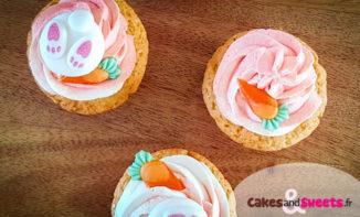 Cupcakes à la vanille de Pâques
