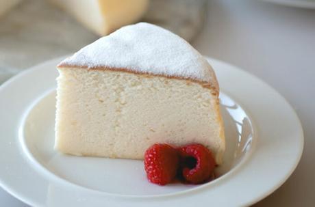 Gâteau au fromage japonais