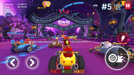 Télécharger Starlit On Wheels: Super Kart APK MOD (Astuce) 2
