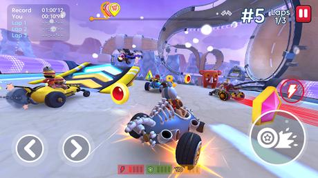 Télécharger Starlit On Wheels: Super Kart APK MOD (Astuce) 4