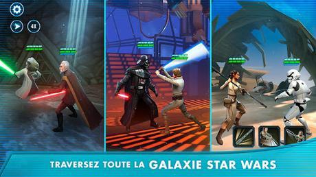Télécharger Gratuit Star Wars: Héros de la Galaxie APK MOD (Astuce) 2