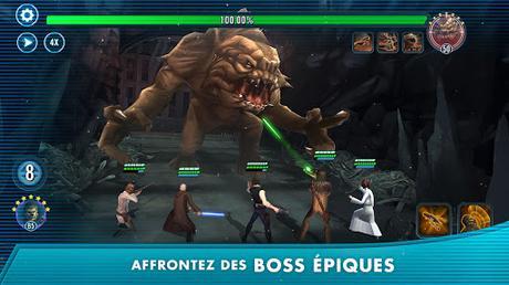 Télécharger Gratuit Star Wars: Héros de la Galaxie APK MOD (Astuce) 4