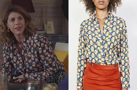 DEMAIN NOUS APPARTIENT : la chemise imprimé '70 dans l'épisode 900