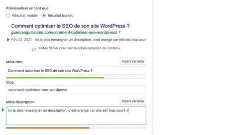 Comment optimiser le SEO de son site WordPress ?