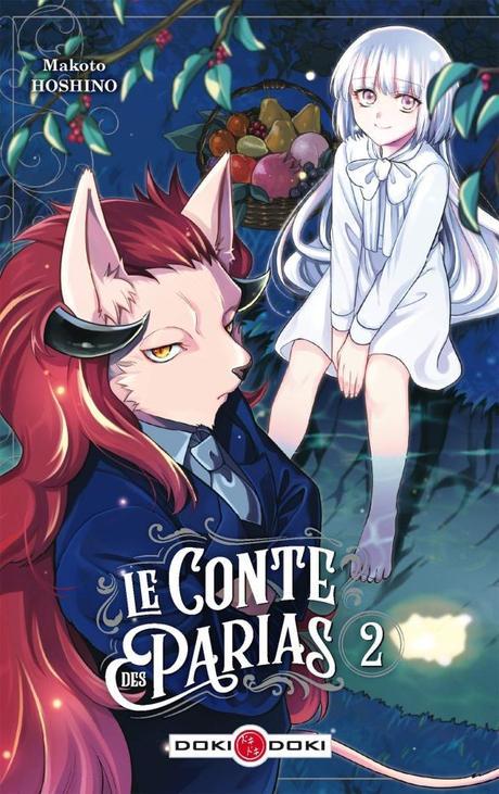 Le Conte des Parias T01 et T02 de Makoto Hoshino