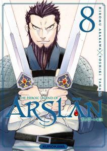 The Heroic Legend of Arslân T8, de Hiromu Arakawa